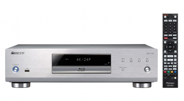 Pioneer  BDP-LX 58 S (Silber) High End BluRay Player mit 4K Ausgabe